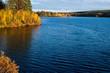 canvas print picture - Herbststimmung in Finnland