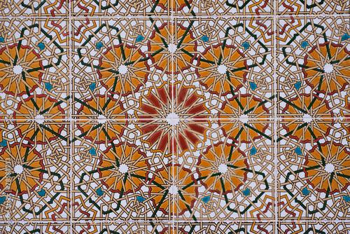 Foto op Plexiglas Wand Seamless mosaic tile pattern