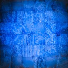 Navy blue stone mosaic