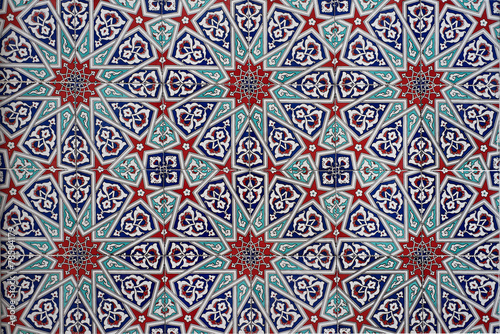 Seamless mosaic tile pattern - 78584179