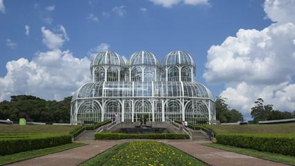 4K Time lapse close up Curitiba botanical garden Jardim Botanico