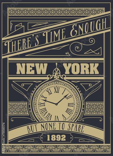 cytat-typograficzne-tlo-projekt-wektor-quot-czas-na-eno