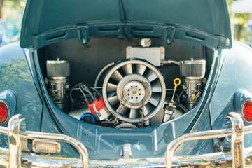 Vintage car engine