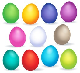 Easter eggs thematic image 6