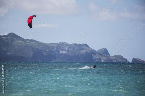 Maui Kite Surfer - 78585797