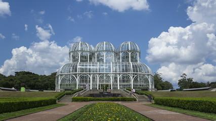 4K Time lapse zoom out Curitiba botanical garden Jardim Botanico