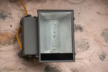 The floodlight for security light .