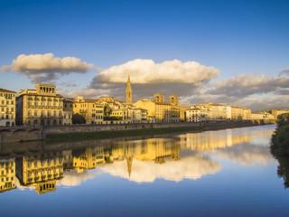 Firenze,fiume Arno.