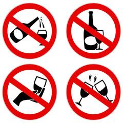 no alcohol symbol