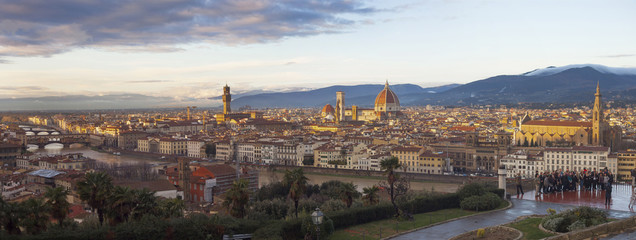 panorama di Firenze.