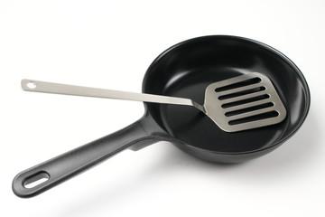 フライパンで調理