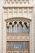 Details of entrance to neo-gothic Atlanta City hall, GA