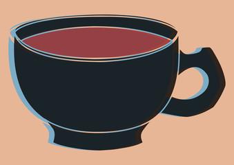Bol de café pop