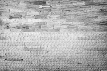 black white brick wall texture