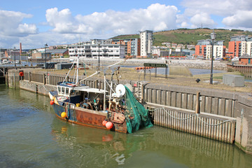 fishing trawler in Swansea