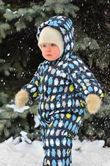 little boy at walking