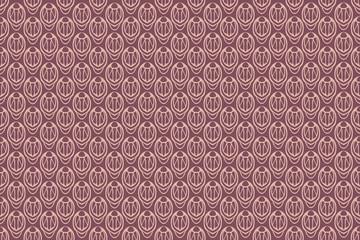 Retro wallpaper pattern seamless vector illustration