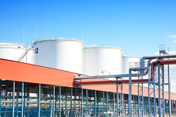 Oil storage industrial park
