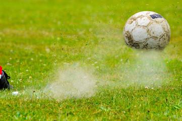 Fußball - Detail - Platz