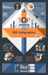 Seo Infographics Set