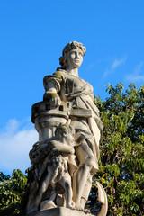 Bauersfrau in Barcelona