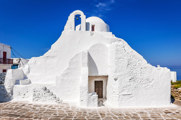 Panagia Paraportiani church in Mykonos