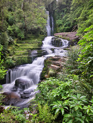 McLean Falls (Catlins Forest Park, New Zealand)