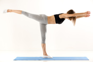 Girl Exercise Yoga