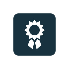 achievement icon Rounded squares button