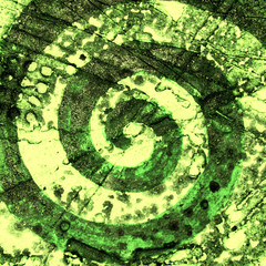 Magic green sign of Golden Ratio infinity