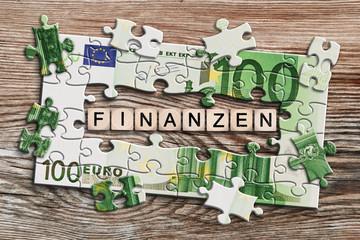 Geldscheinpuzzle - Finanzen