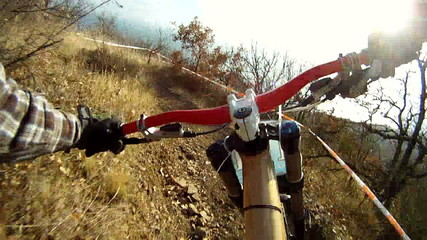 Fast Biking in Mountain