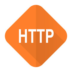 http orange flat icon