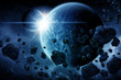 Planet explosion apocalypse - 78596999