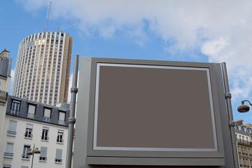 Billboard customizable in european metropolis
