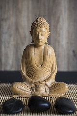 Wooden Statue of Buddha