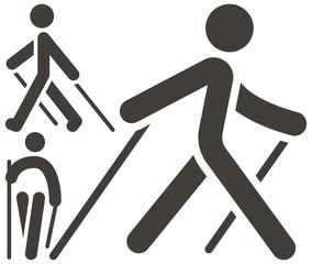 Nordic Walking icons
