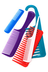 Set of modern comb