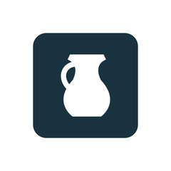 pitcher icon Rounded squares button.