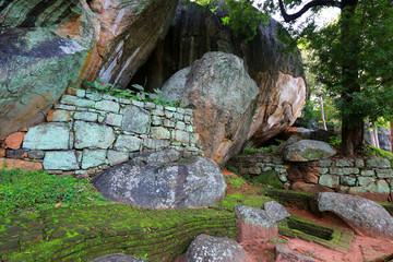 Old Ruins of Sigiriya Castle