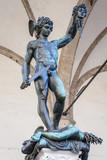 Perseus with the head of Medusa - Benvenuto Cellini poster