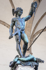 Perseus with the head of Medusa - Benvenuto Cellini