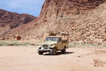Mountains of Wadi Rum Desert, Jordan, 60 km to the east of Aqaba