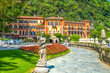 Leinwanddruck Bild - Villa d'Este, Cernobbio, Comer See