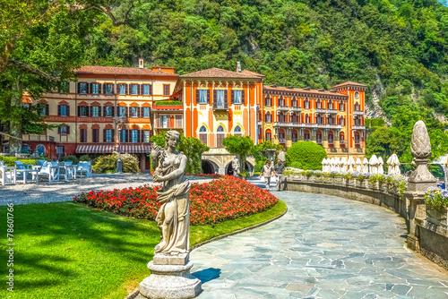 Leinwanddruck Bild Villa d'Este, Cernobbio, Comer See