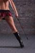������, ������: lange Beine und Peitsche