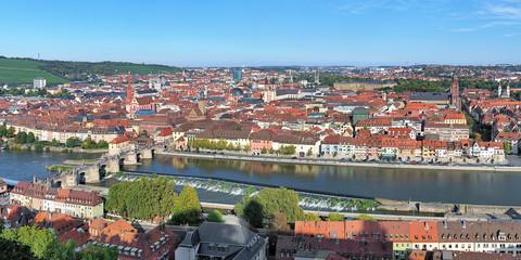 Panorama of Wurzburg, Germany
