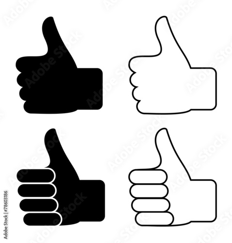 Thumbs up - 78603186