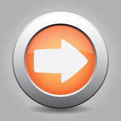 metal button with the orange arrow