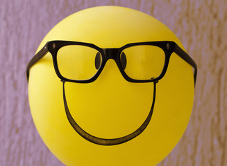 Hipster smiley